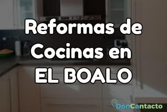 Reformas de cocinas en El Boalo