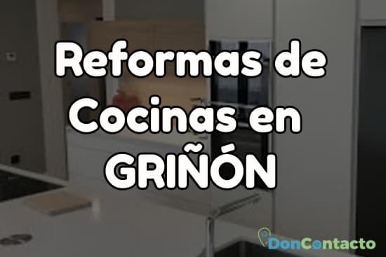 Reformas de cocinas en Griñón
