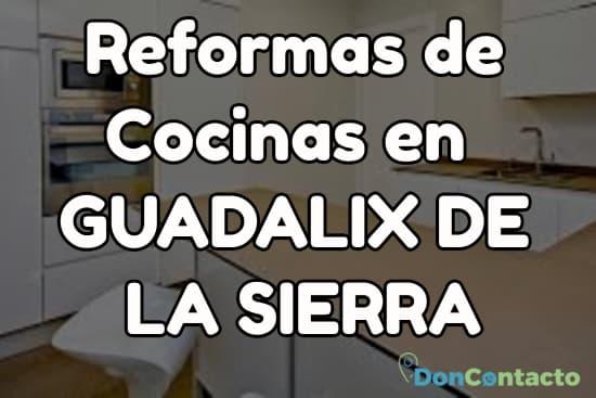 Reformas de cocinas en Guadalix de la Sierra