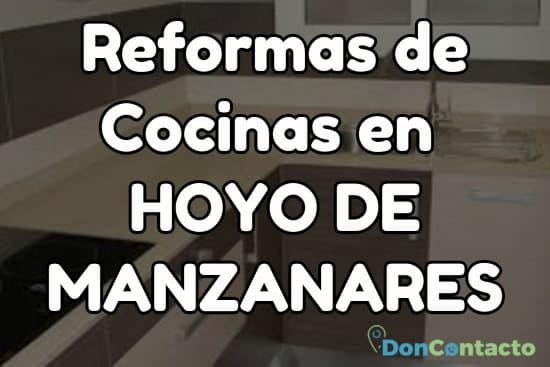 Reformas de cocinas en Hoyo de Manzanares