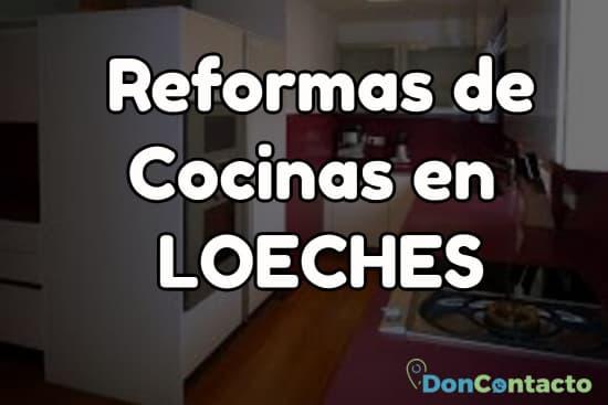 Reformas de cocinas en Loeches