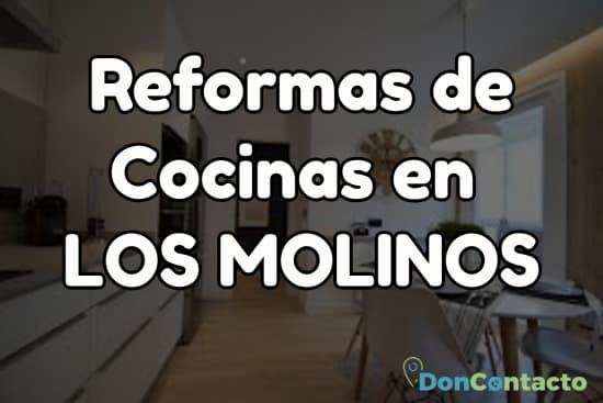 Reformas de cocinas en Los Molinos