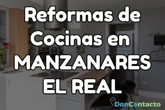 Reformas de cocinas en Manzanares el Real