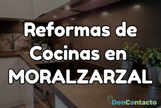 Reformas de cocinas en Moralzarzal
