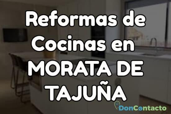 Reformas de cocinas en Morata de Tajuña