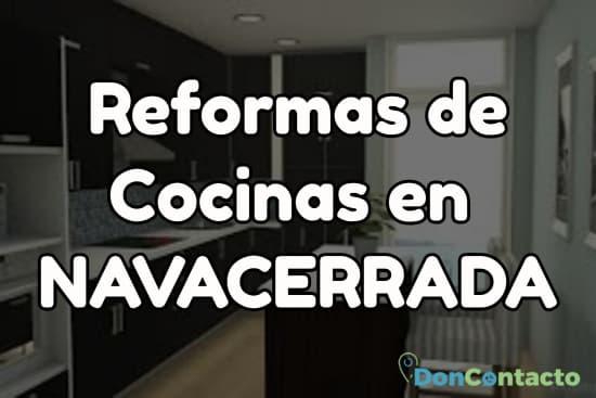 Reformas de cocinas en Navacerrada