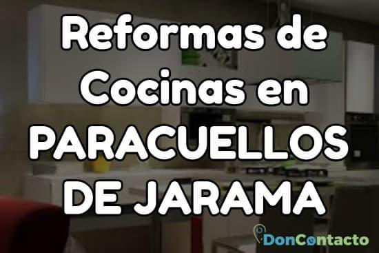 Reformas de cocinas en Paracuellos de Jarama