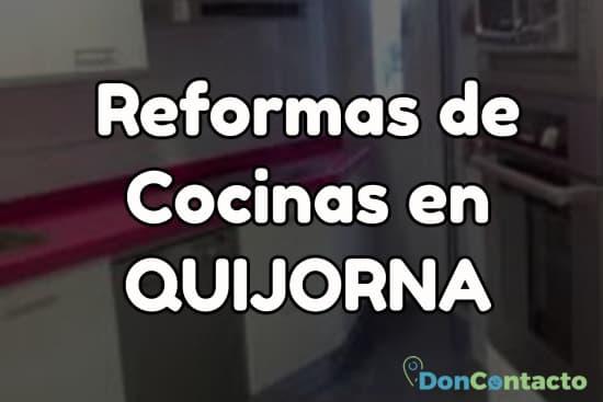 Reformas de cocinas en Quijorna