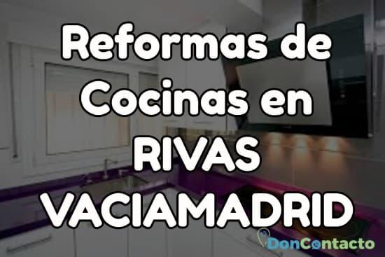 Reformas de cocinas en Rivas Vaciamadrid