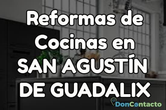 Reformas de cocinas en San Agustín de Guadalix
