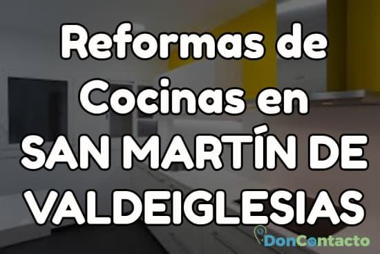 Reformas de cocinas en San Martín de Valdeiglesias