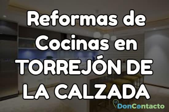 Reformas de cocinas en Torrejón de la Calzada