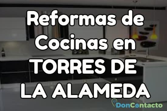 Reformas de cocinas en Torres de la Alameda