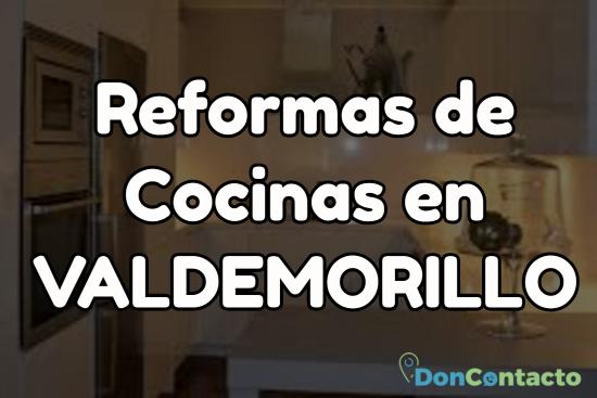 Reformas de cocinas en Valdemorillo