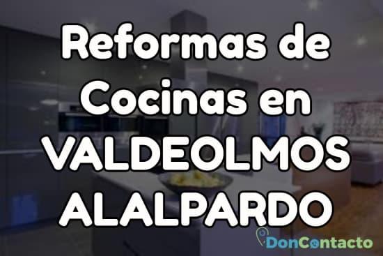 Reformas de cocinas en Valdeolmos-Alalpardo