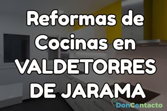 Reformas de cocinas en Valdetorres de Jarama