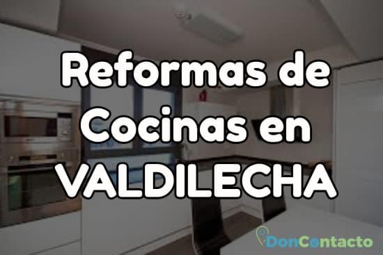 Reformas de cocinas en Valdilecha