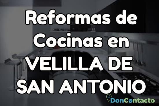 Reformas de cocinas en Velilla de San Antonio