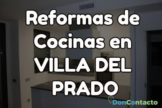 Reformas de cocinas en Villa del Prado