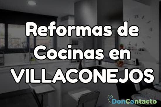 Reformas de cocinas en Villaconejos