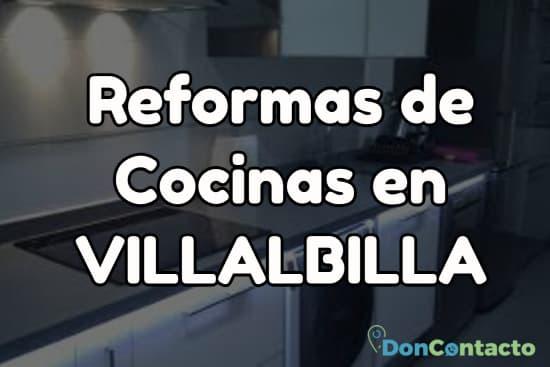 Reformas de cocinas en Villalbilla