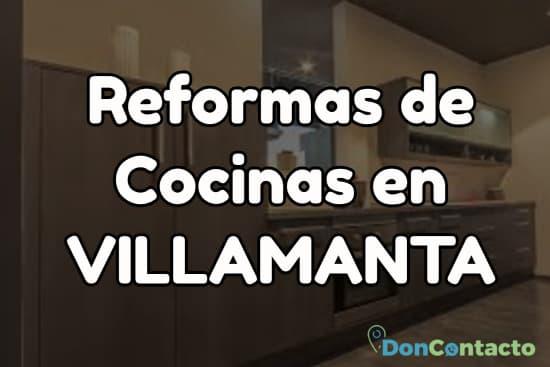 Reformas de cocinas en Villamanta