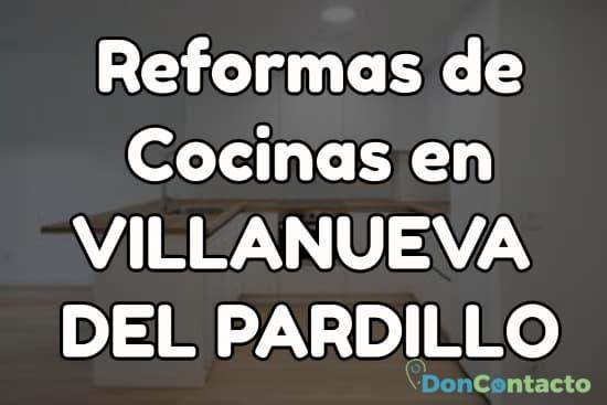 Reformas de cocinas en Villanueva del Pardillo