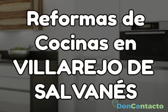 Reformas de cocinas en Villarejo de Salvanés