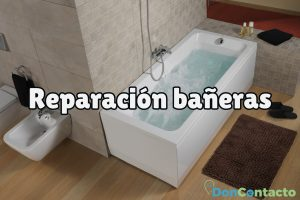 ¿Cómo arreglar una bañera?