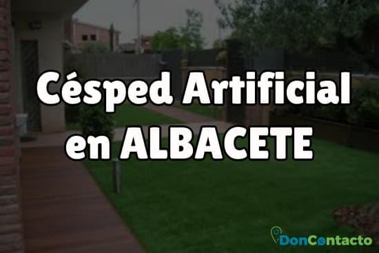 Césped Artificial en Albacete