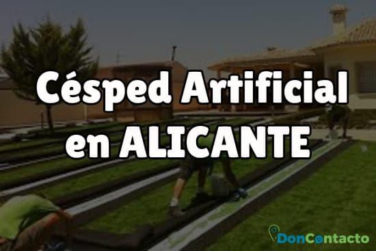 Césped Artificial en Alicante
