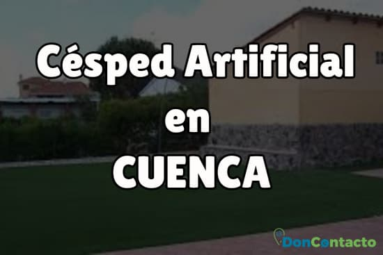 Césped Artificial en Cuenca