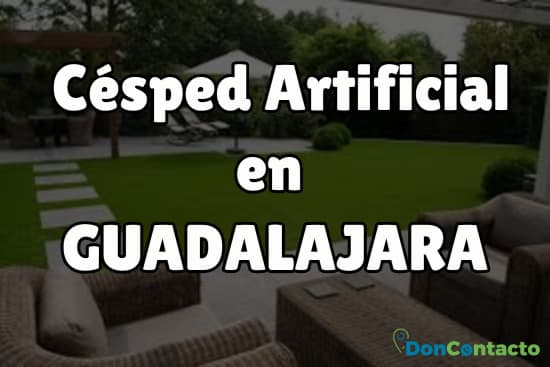 Césped Artificial en Guadalajara