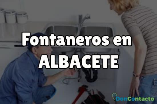 Fontaneros en Albacete