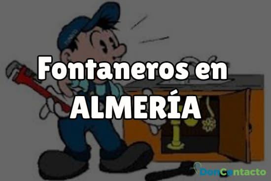 Fontaneros en Almería