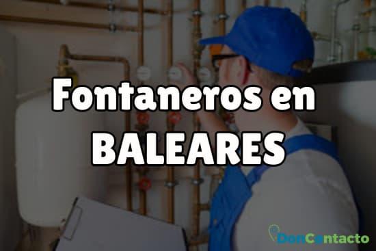 Fontaneros en Baleares