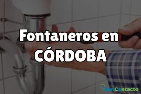 Fontaneros en Córdoba