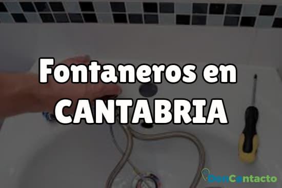 Fontaneros en Cantabria