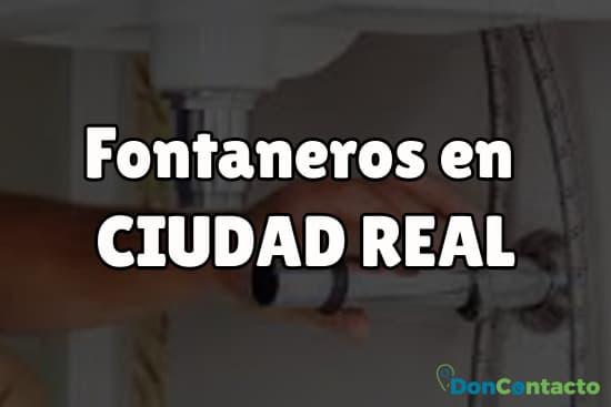 Fontaneros en Ciudad Real