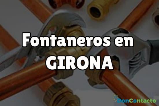 Fontaneros en Girona