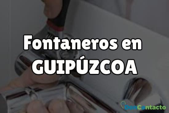 Fontaneros en Guipúzcoa