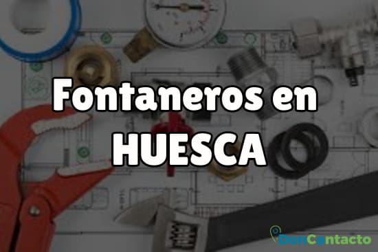 Fontaneros en Huesca