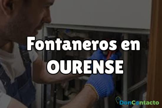 Fontaneros en Ourense