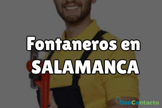Fontaneros en Salamanca