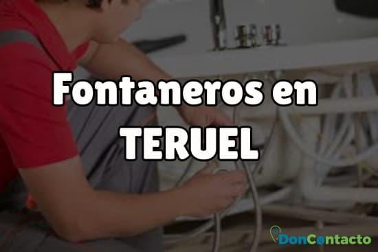Fontaneros en Teruel