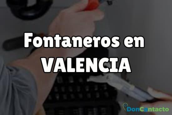 Fontaneros en Valencia