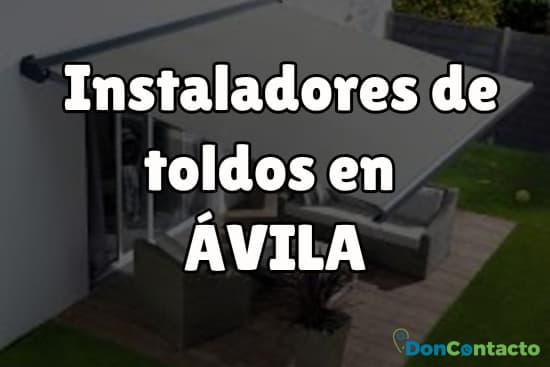 Instaladores de toldos en Ávila