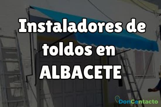 Instaladores de toldos en Albacete
