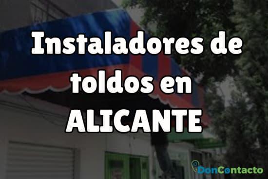 Instaladores de toldos en Alicante