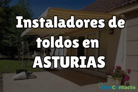 Instaladores de toldos en Asturias